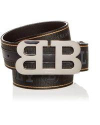 Bally Mirror B Reversible Belt - Multicolour