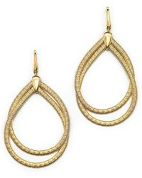 Marco Bicego | 18k Yellow Gold Cairo Drop Earrings | Lyst
