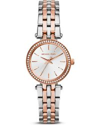 Michael Kors Petite Two - Tone Darci Watch - Metallic