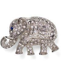 Carolee - Elephant Pin - Lyst