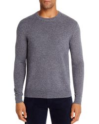 Bloomingdale's Cashmere Crewneck Sweater - Gray