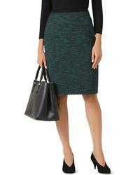Hobbs Felicia Tweed Pencil Skirt