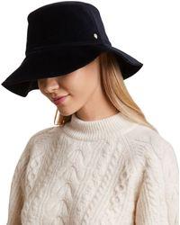 Helen Kaminski Rosas Velvet Hat - Blue