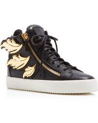 Giuseppe Zanotti cruel Double-zip Sneakers - Black
