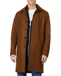 Sandro Mac Coat - Brown