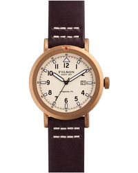 Filson The Scout Watch, 45.5mm - White