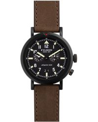 Filson - 45.5mm Scout Dual-time Watch - Lyst
