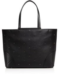 MCM - Claudia Studded Tote - Lyst