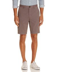 Michael Kors - Garment Dyed Stretch Cotton Shorts - Lyst