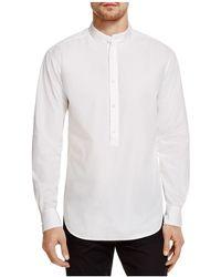 BLK DNM | Band Collar Regular Fit Pullover Shirt | Lyst
