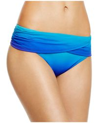 Bleu Rod Beattie - Some Like It Hot Draped Hipster Bikini Bottom - Lyst