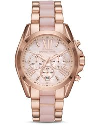 Michael Kors Bradshaw Chronograph Quartz Ladies Watch - Pink