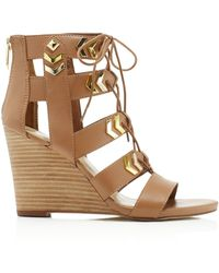 Fergie - Finnick Wedge Sandals - Compare At $99 - Lyst