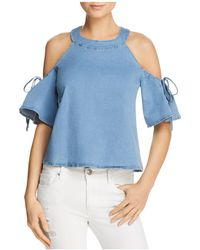 PPLA - Wilson Cold-shoulder Top - Lyst