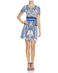 Finity - Baroque Print Dress - Lyst