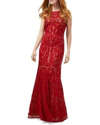Phase Eight Phoenix Scuba Gown - Red