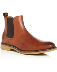 Bloomingdale's - Men's Leather Chelsea Boots - Lyst