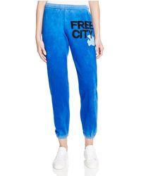 FREE CITY - Logo Sweatpants - Lyst