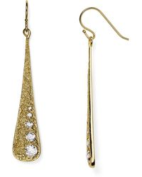 Melinda Maria - Melted Pod Drop Earrings - Lyst