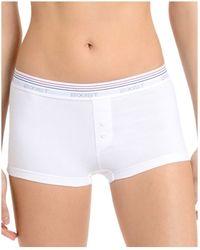 2xist - 2(x)ist Retro Cotton Boy Shorts #wu0133 - Lyst