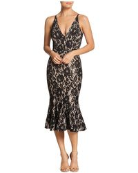 Dress the Population - Isabelle Lace Dress - Lyst