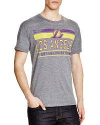 Sportiqe - Los Angeles Lakers Comfy Tee - Lyst