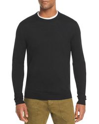 Bloomingdale's The Store At Bloomingdale's Merino Crewneck Sweater - Black