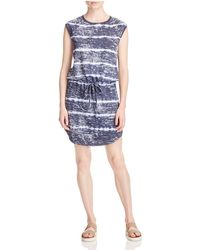 Allen Allen - Tie Dye Drawstring Dress - Lyst