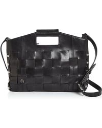 Etienne Aigner - Jerry Woven Convertible Crossbody - Lyst