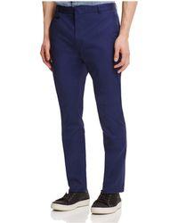 HUGO - Heralt Slim Fit Trousers - Lyst