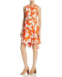 Julia Jordan Sleeveless Floral Swing Dress - Compare At $168