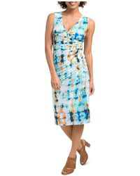 Lyssé - Lupe Abstract Print Dress - Lyst