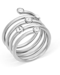 Michael Kors - Spiral Ring - Lyst
