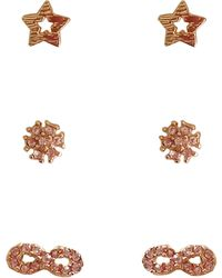 Cara - Stud Earrings, Set Of 3 Pairs - Compare At $25 - Lyst