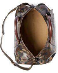 Polo Ralph Lauren Camo Leather Duffel Bag - Green