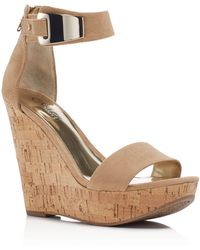 Carlos By Carlos Santana - Benita Ankle Strap Wedge Sandals - Compare At $79 - Lyst