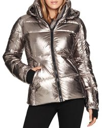 S13/nyc S13 Kylie Glossy Fleece Cuff Puffer Coat (64.4% Off) ? Comparable Value $225 - Multicolor