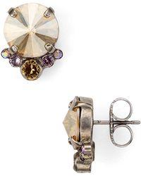Sorrelli - Circle Cluster Earrings - Lyst