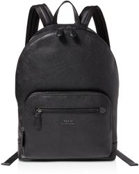 Polo Ralph Lauren - Pebbled-leather Backpack - Lyst