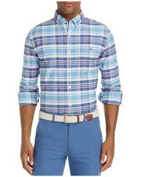 Vineyard Vines - Fort Sumter Plaid Tucker Slim Fit Button-down Shirt - Lyst