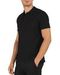 ATM Atm Anthony Thomas Melilo Classic Fit Polo Shirt - Black