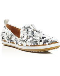Bill Blass - Sutton Embellished Loafers - Lyst