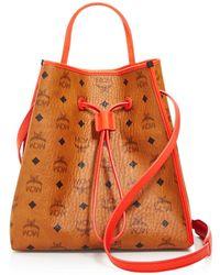 MCM - Kira Drawstring Bucket Bag - Lyst