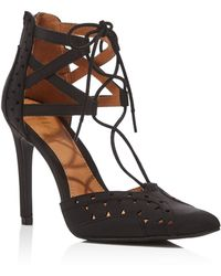 MIA - Melonie Lace-up Court Shoes - Compare At $59 - Lyst