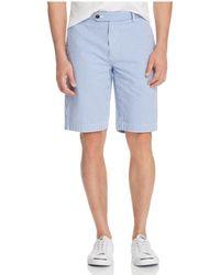 Brooks Brothers Seersucker Gingham Bermuda Shorts - Blue