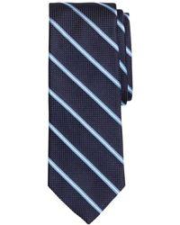Brooks Brothers - Mini Split-stripe Silk Classic Tie - Lyst