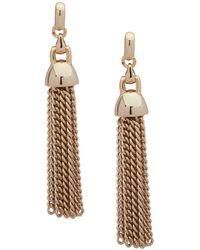 Ralph Lauren - Lauren Tassel Drop Earrings - Lyst
