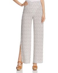 Oober Swank - Waist Tie Palazzo Pants - Compare At $88 - Lyst