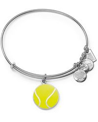 ALEX AND ANI - Team Usa Tennis Expandable Wire Bangle - Lyst