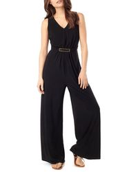 Phase Eight - Sheree Buckle Jersey Jumpsuit - Lyst